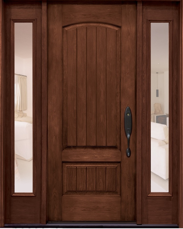 Exterior doors fiberglass nc for Masonite belleville door price